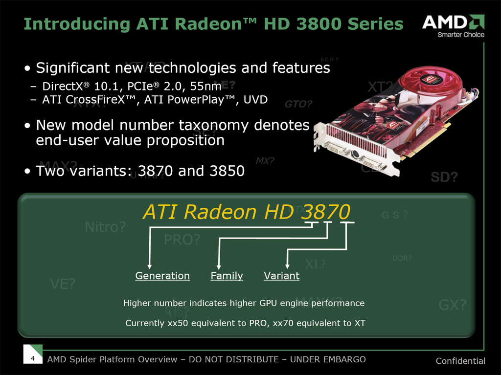 ATI Radeon HD 3870 and 3850: 55nm RV670