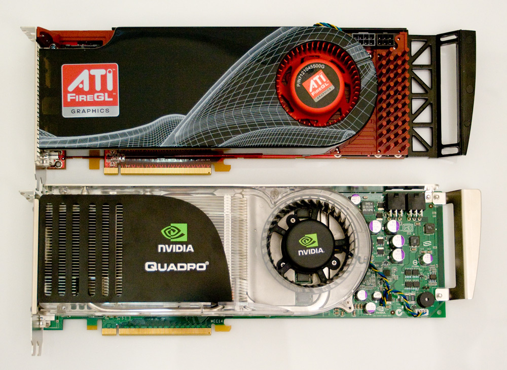 High-End Workstation Graphics Shootout - AMD FireGL V8650 Vs. NVIDIA QuadroFX 5600