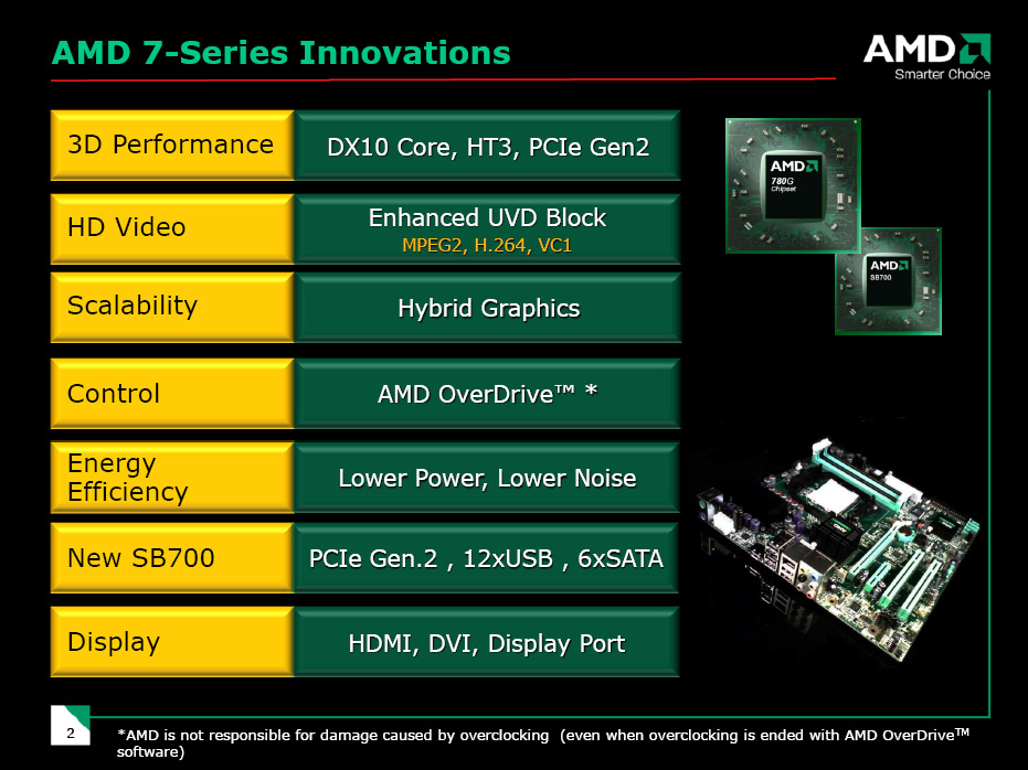 AMD 780G Chipset and Athlon X2 4850e Preview