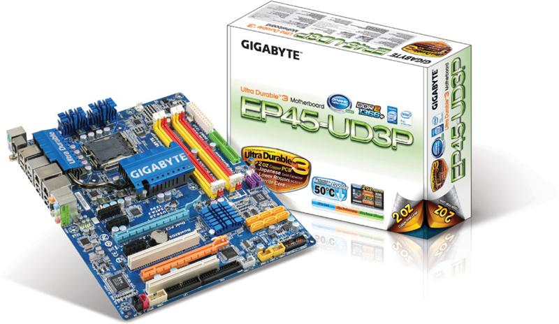 Gigabyte GA-EP45-UD3P Ultra Durable 3 Motherboard