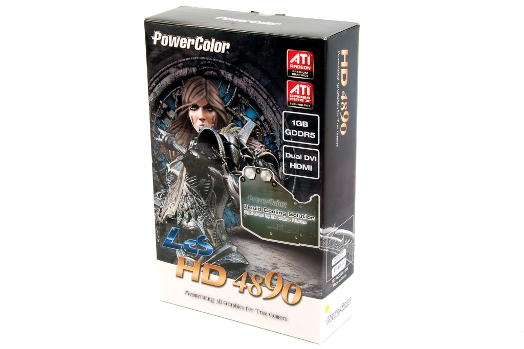 PowerColor Liquid Cooled Radeon HD 4890 LCS