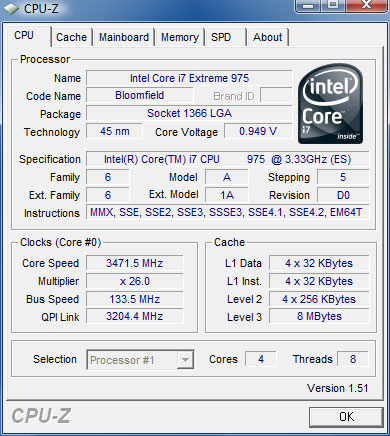 Intel Core i7 975 Extreme Edition Processor Review