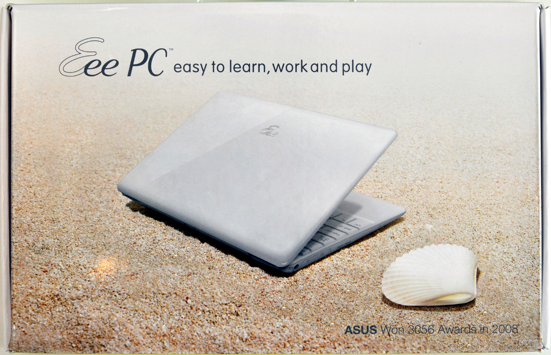 "Asus Eee PC 1008HA ""Seashell"" Review"