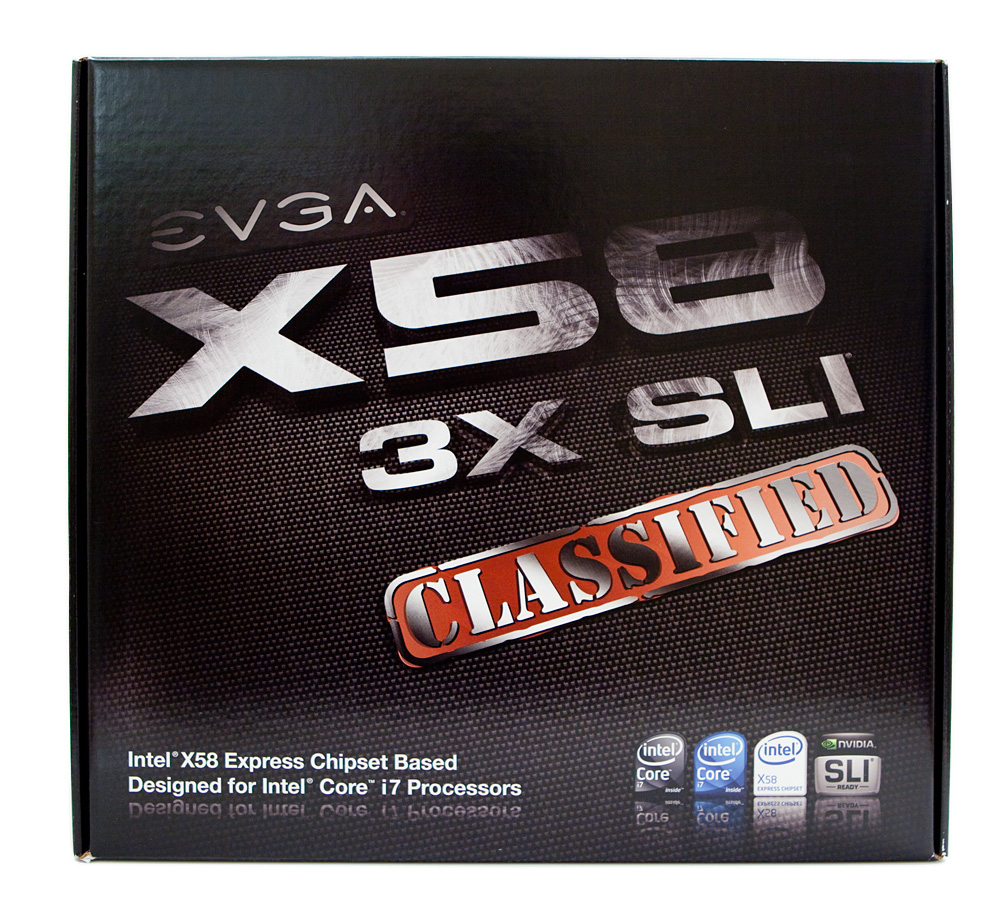 EVGA X58 3X SLI Classified Motherboard
