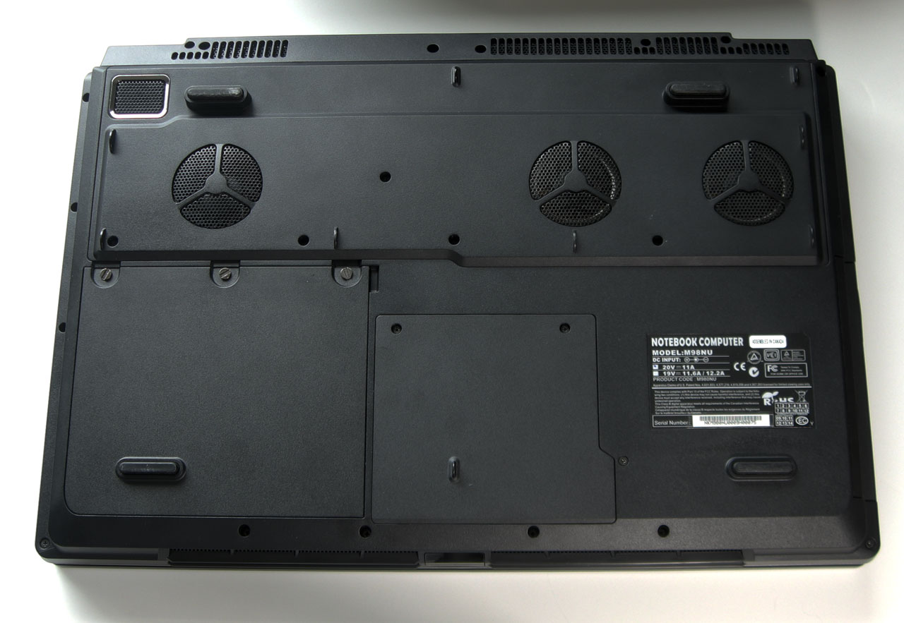Eurocom M98NU XCaliber Gaming Notebook Review