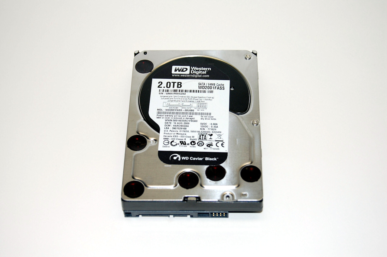 Western Digital Caviar Black and RE4 2TB Drives Review