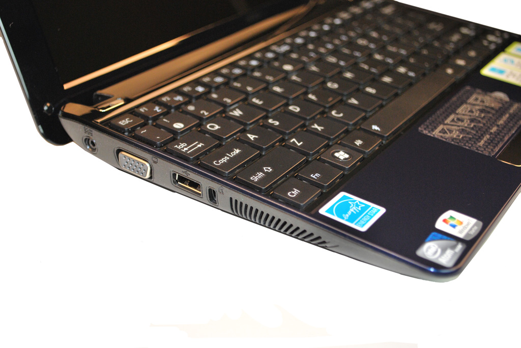 Asus Eee PC1005PE, Atom N450 Pinetrail Launch