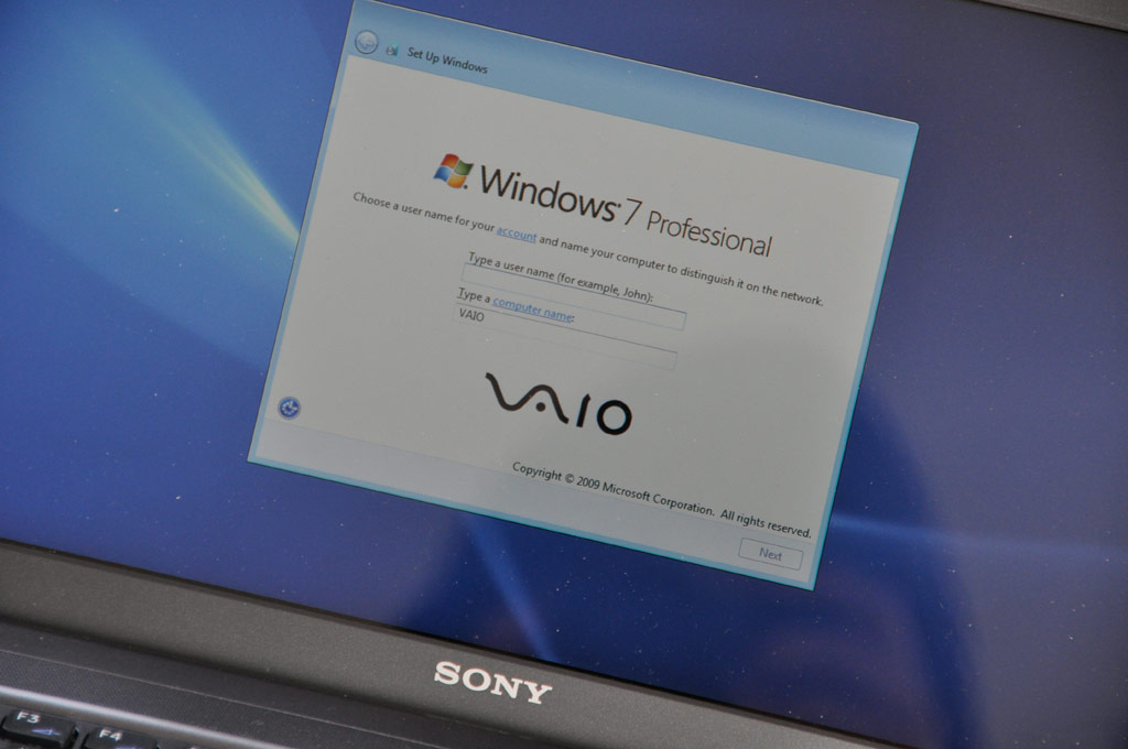Sony VAIO Y Series Notebook Review