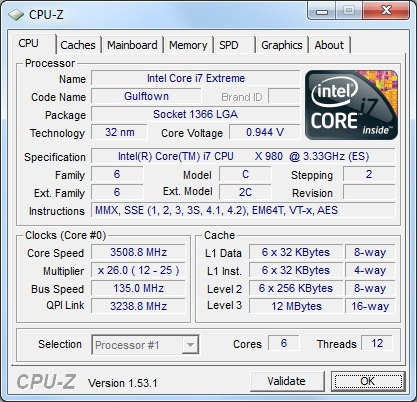 Intel Core i7-980X Extreme 6-Core Processor Review
