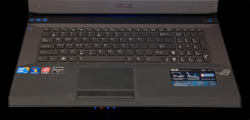 Asus G73Jh Gaming Notebook Review