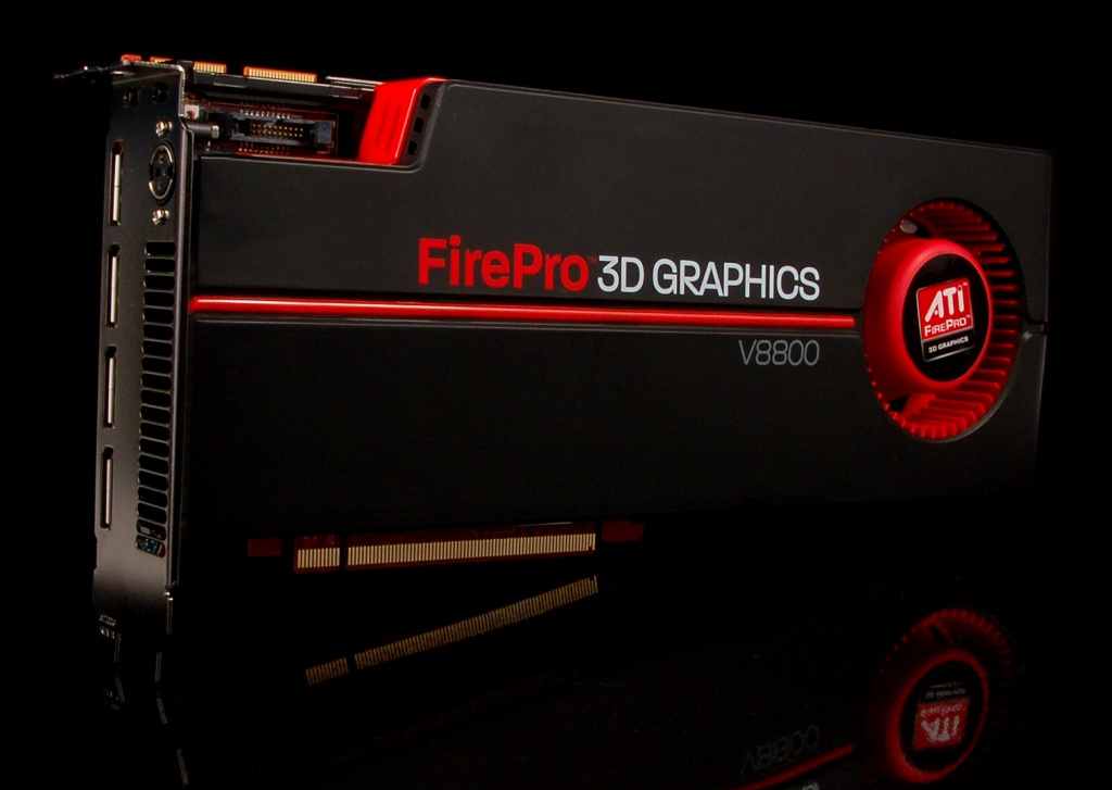 AMD ATI FirePro V8800 Workstation Graphics Card