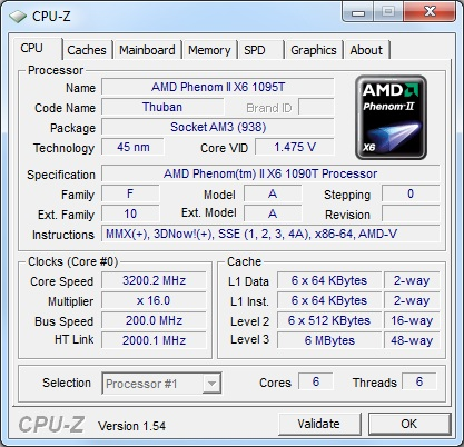 AMD Phenom II X6 1090T 6-Core Processor Review