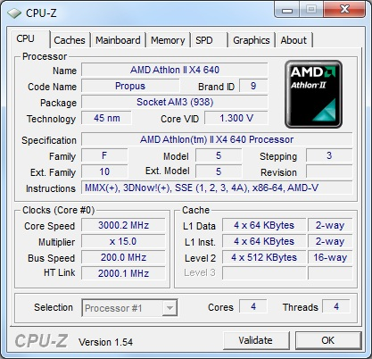 AMD Athlon II X4 640: 4-Cores On The Cheap