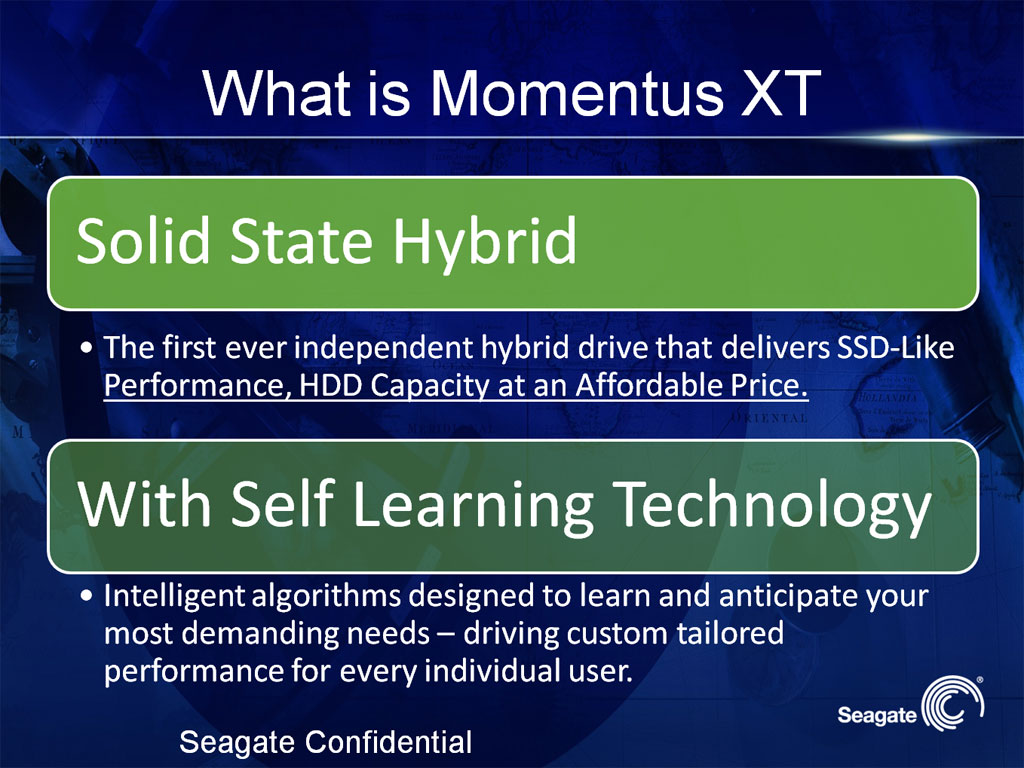 Seagate Momentus XT Solid State Hybrid Preview