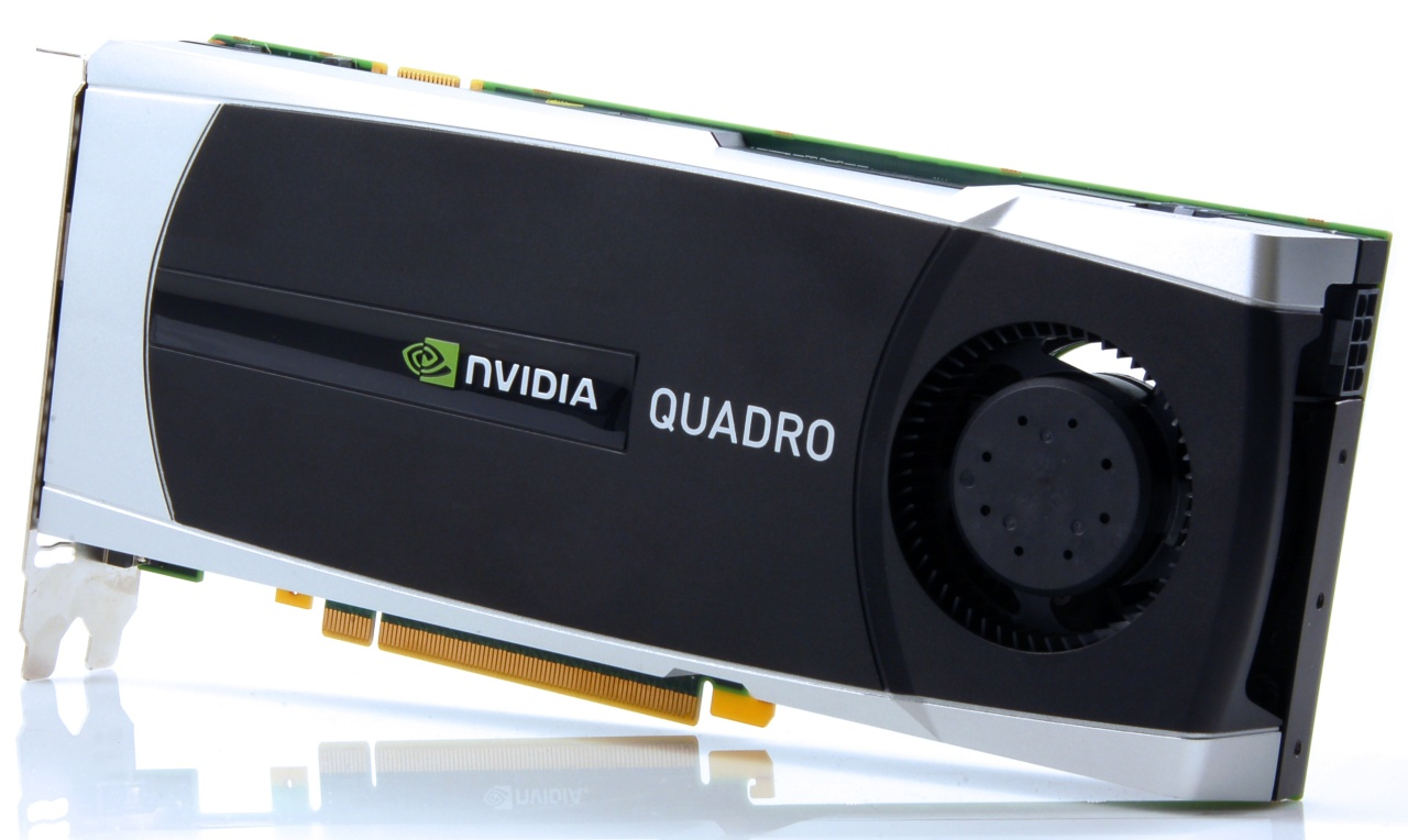 NVIDIA Unleashes Quadro 6000 and 5000 Series GPUs