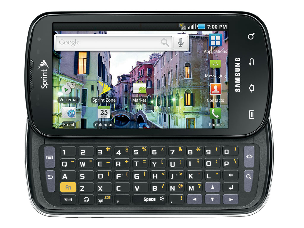 Samsung Epic 4G Android Smartphone Review