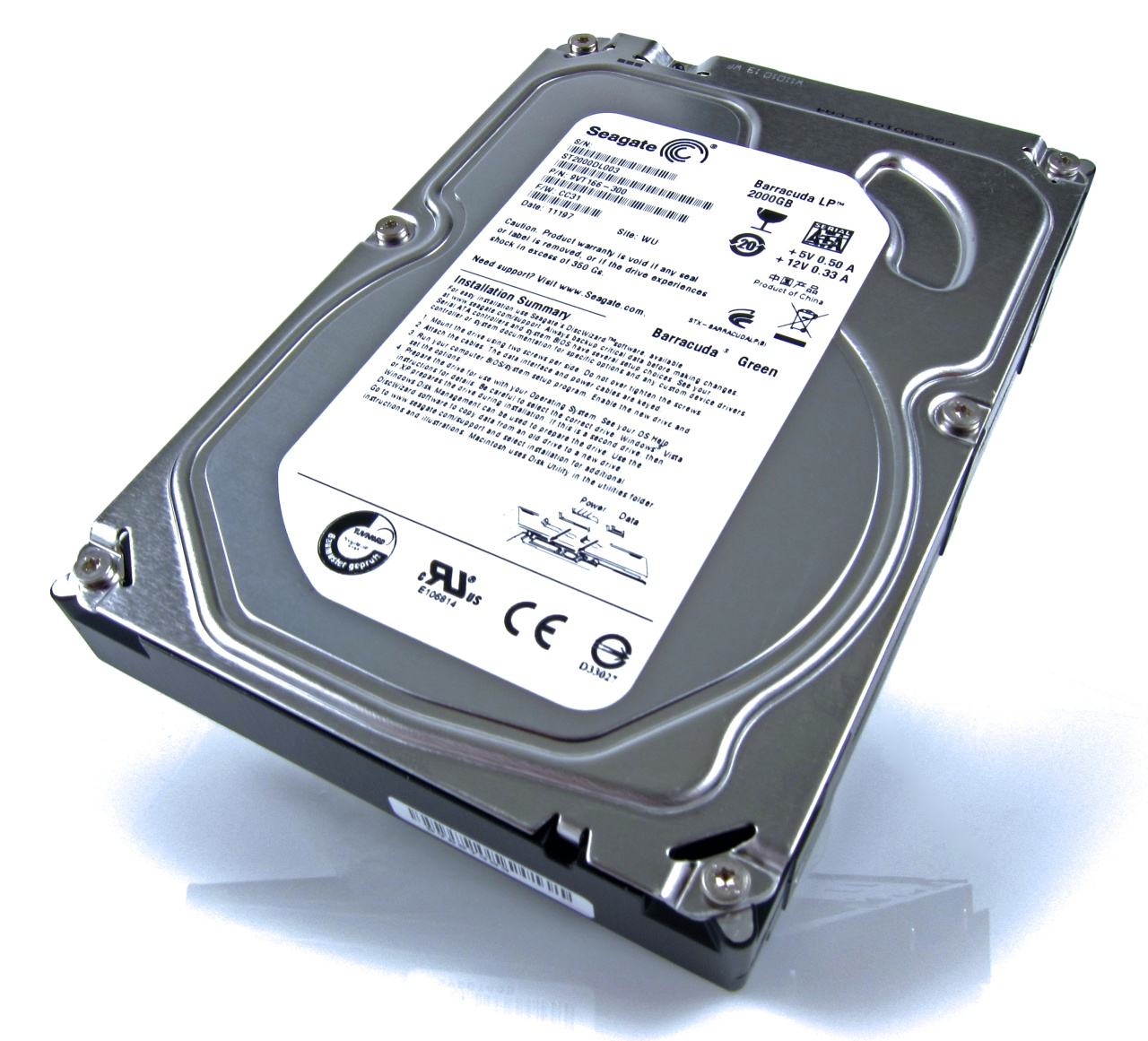 Seagate Barracuda Green 2TB Hard Drive Review