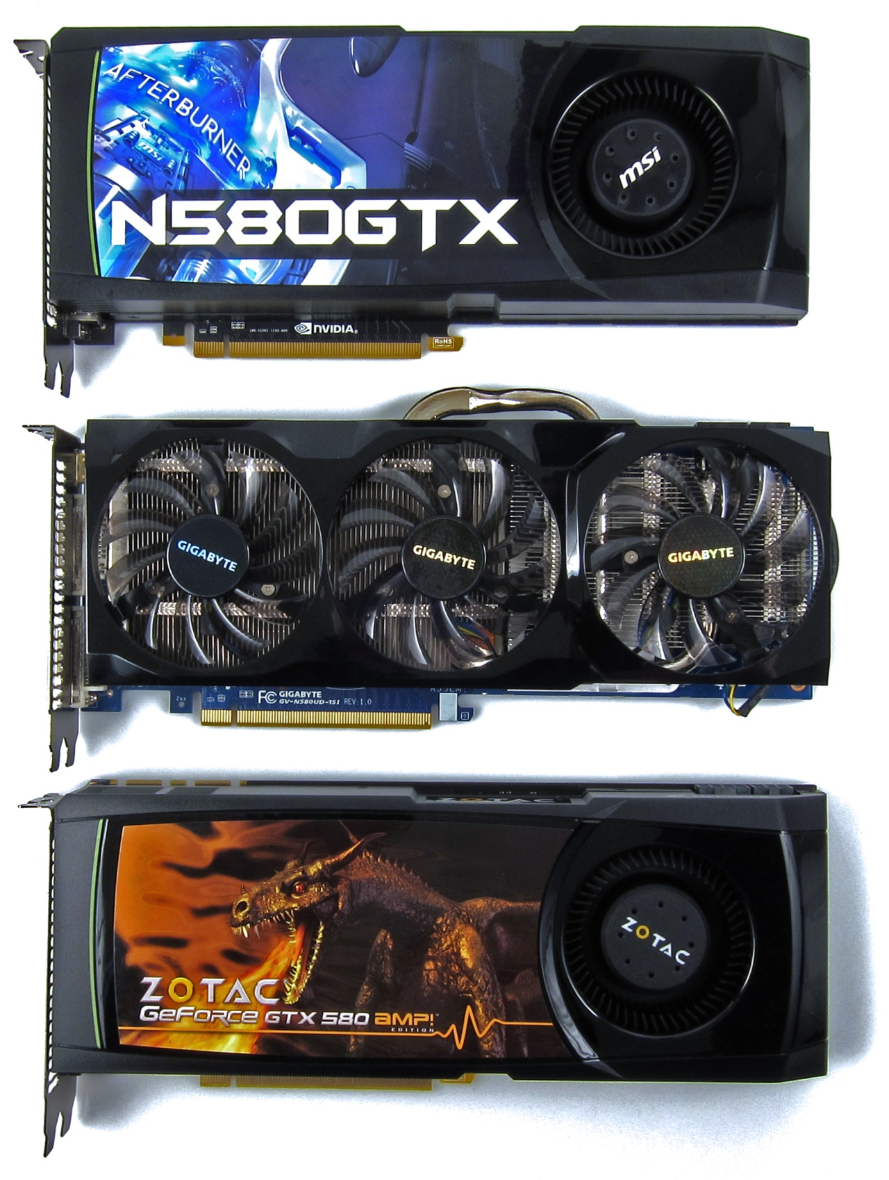 Overclocked NVIDIA GeForce GTX 580 Round-Up