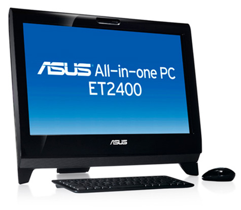 Asus 2400ET All-In-One Touch Desktop Review