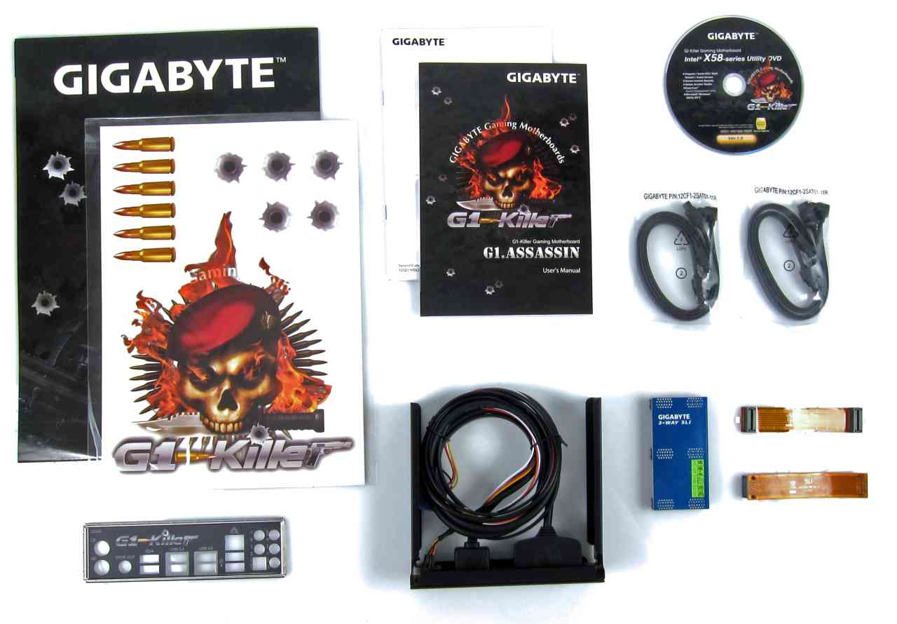 Gigabyte G1.Assassin X58 Motherboard Review