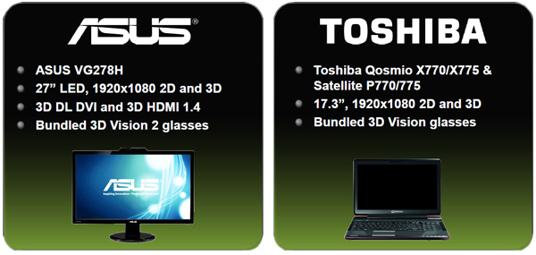 NVIDIA 3D Vision 2 and The Asus VG278H LCD Review