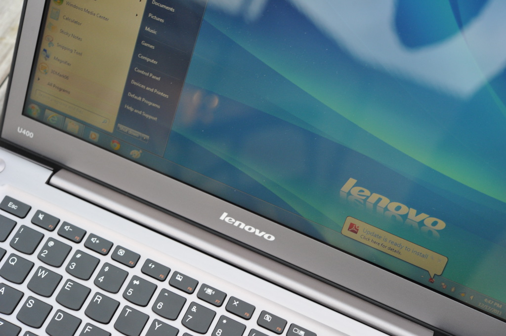 Lenovo IdeaPad U400 Notebook Review