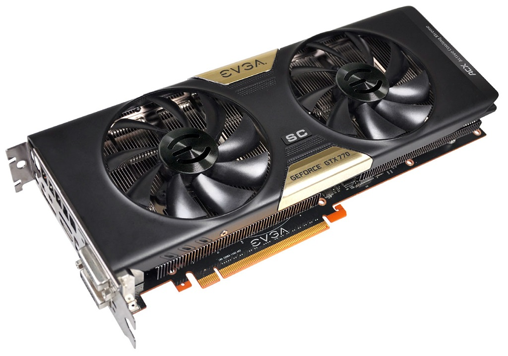 EVGA GeForce GTX 770 SC with ACX Cooling Review