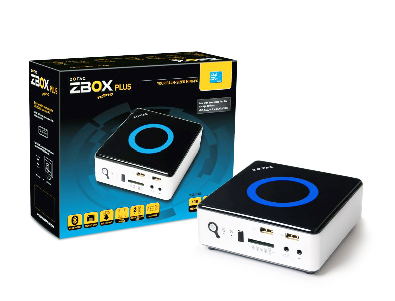 Zotac ZBOX Nano ID65 Plus Out NUCs Intel