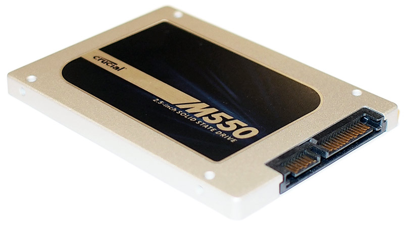 Crucial M550 Series Solid State Drive Review