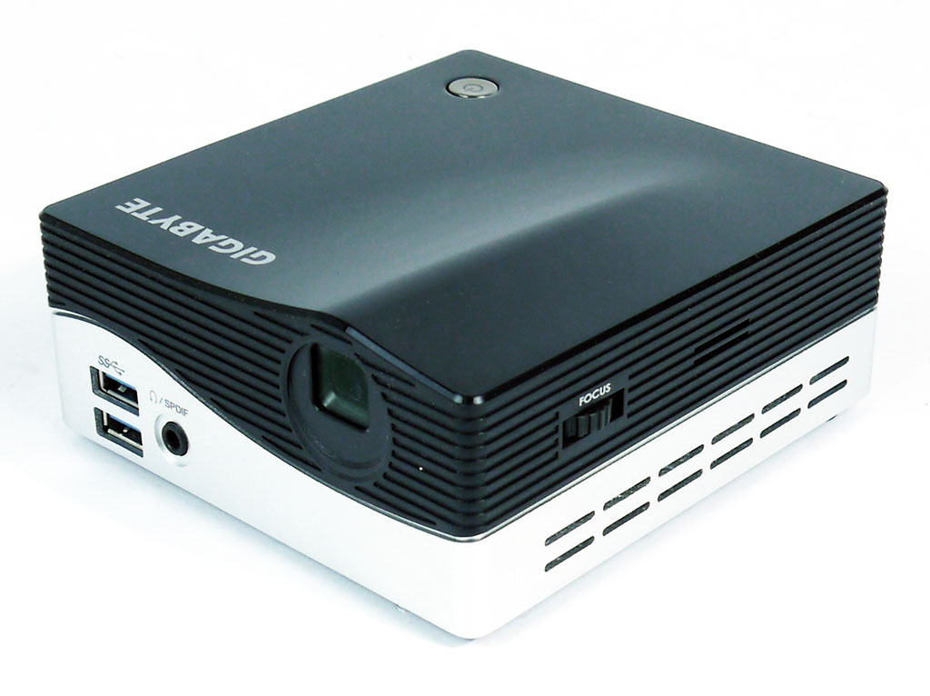 Gigabyte Brix PC/Projector Review