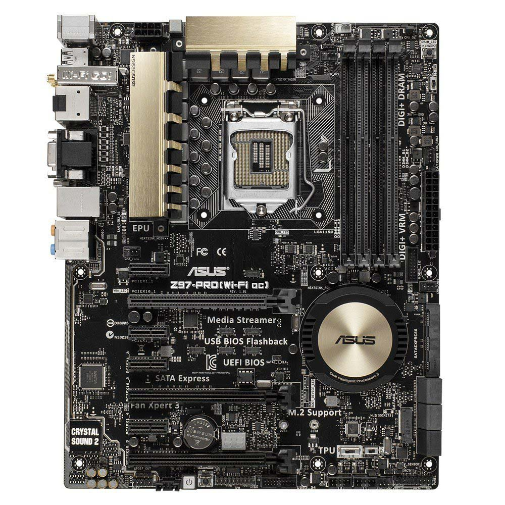 Asus Z97 Pro (Wi-Fi ac) Socket 1150 Motherboard Review