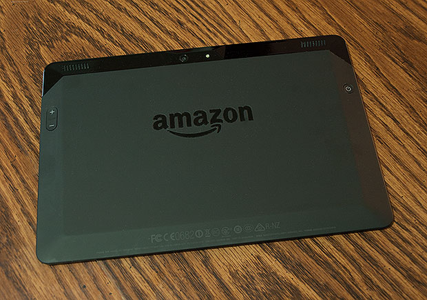 Amazon Fire HDX 8.9 Back
