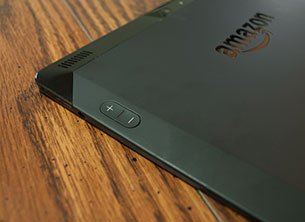 Amazon Fire HDX 8.9 Volume Buttons