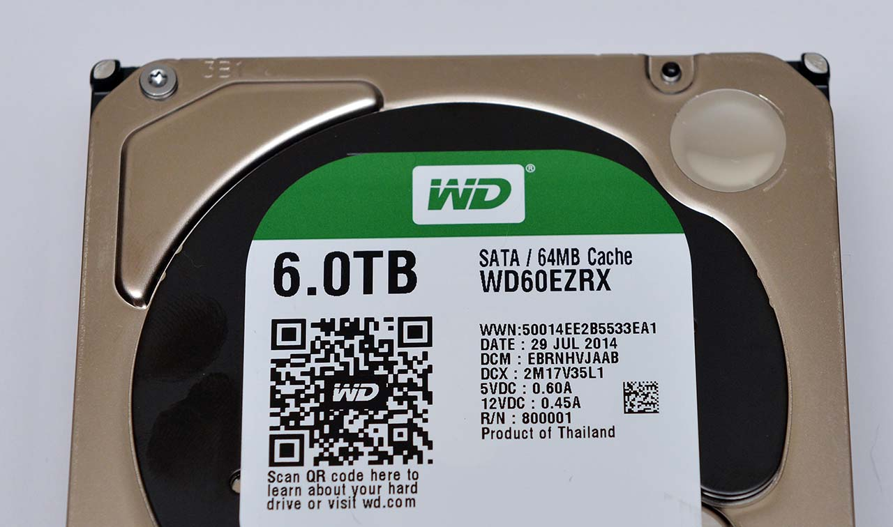 6 TB Hard Drive Round-Up: WD Red, WD Green, Seagate Enterprise