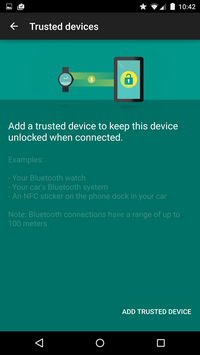 trusted devices