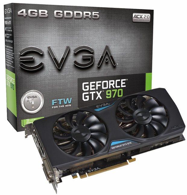 EVGA GeForce GTX 970 FTW