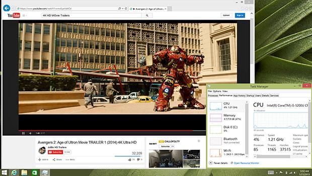 XPS 13 4K HD Video Playback