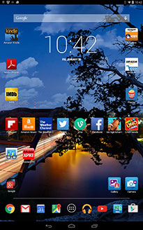 Dell Venue 8 7000 KitKat Screenie