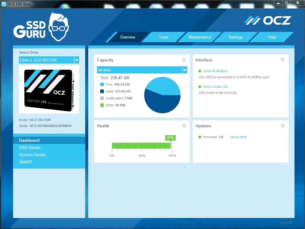 OCZ Vector 180 Solid State Drive Review: Barefoot 3 Optimized