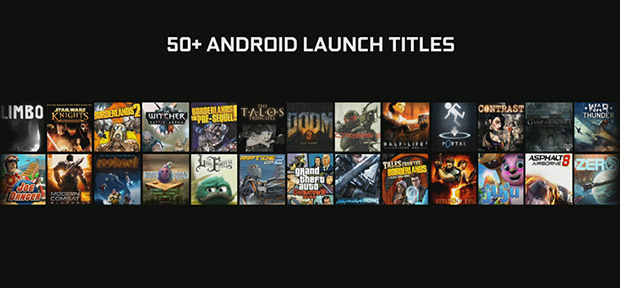 Android Games SHIELD Store