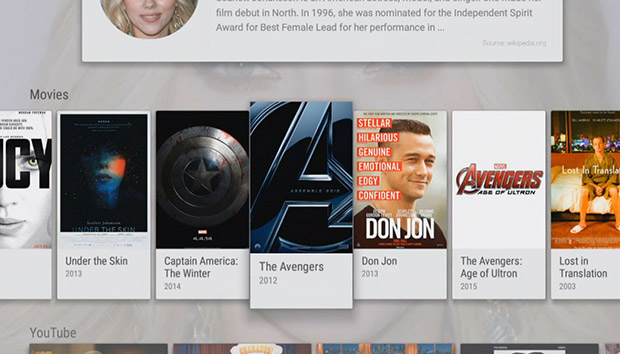Android TV - Movies