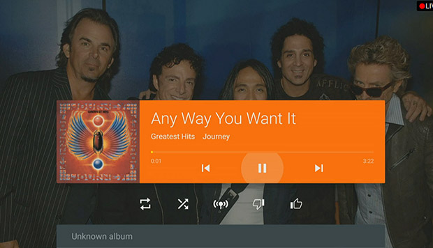 Android TV Music