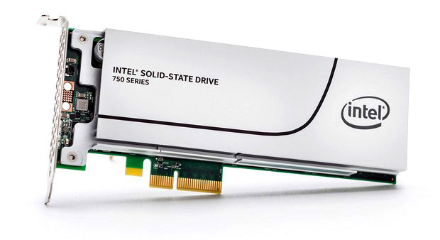 Intel SSD 750 Series NVMe PCI Express Solid State Drive - 1.2 Terabyte Capacity