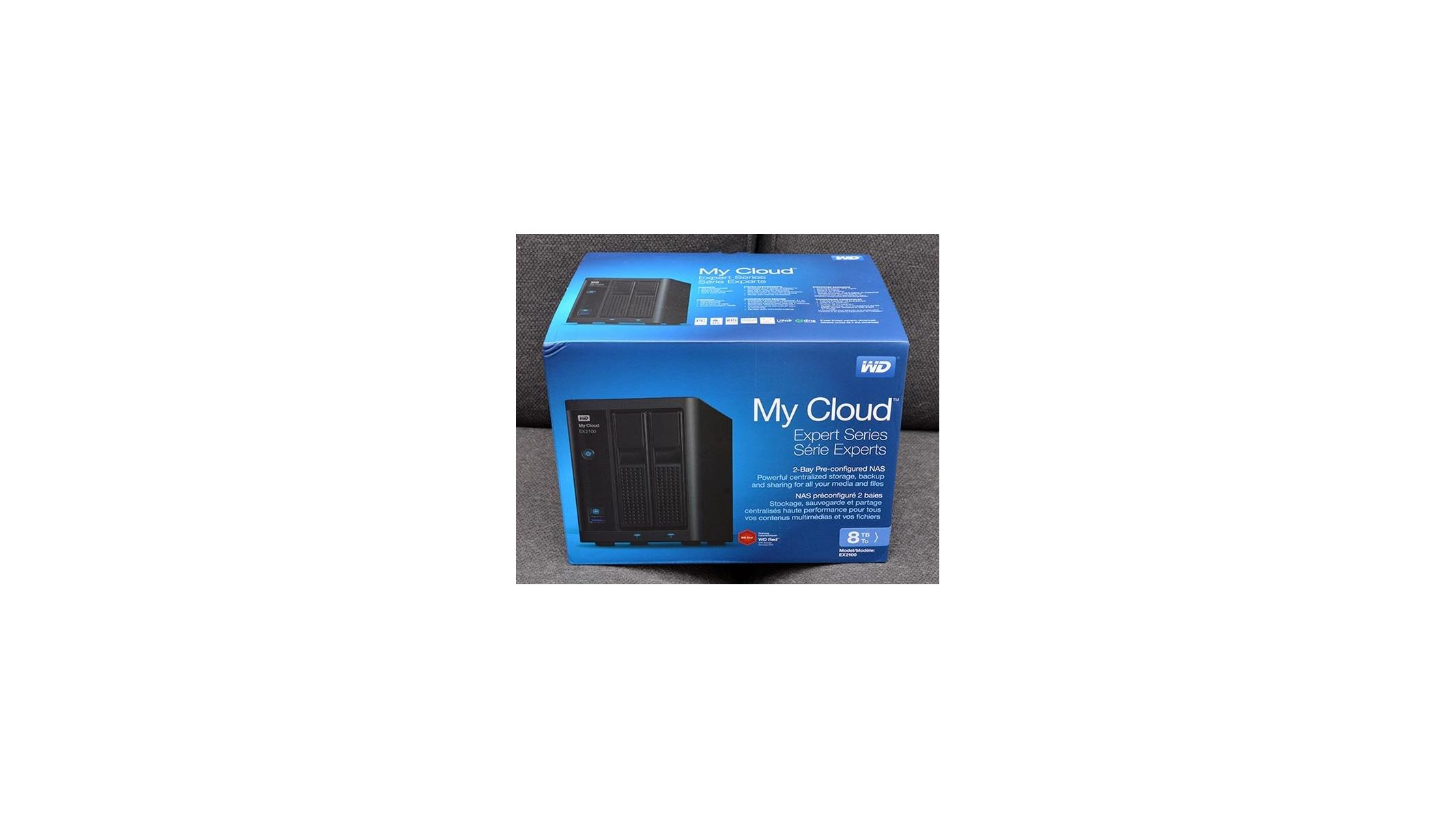 WD My Cloud EX2100 Dual Bay 8TB NAS Review | HotHardware
