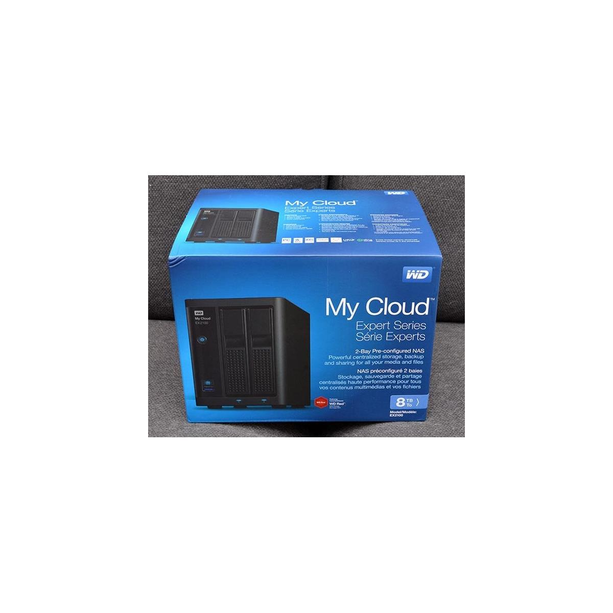 Wd My Cloud Ex2100 Dual Bay 8tb Nas Review Hothardware