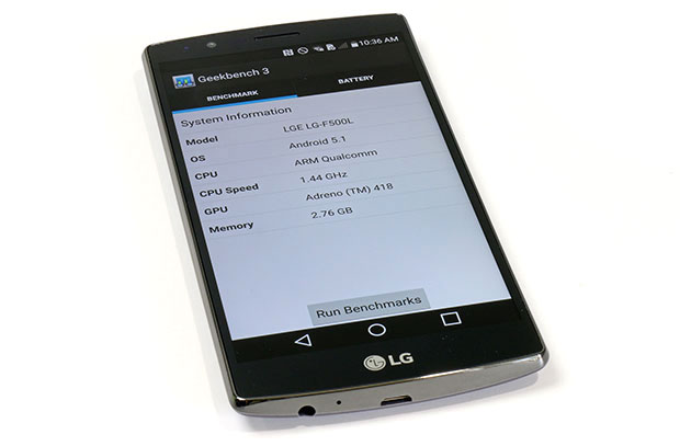 LG G4 Geek Bench Specs