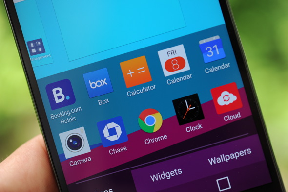 LG G4 Custom Home Screen