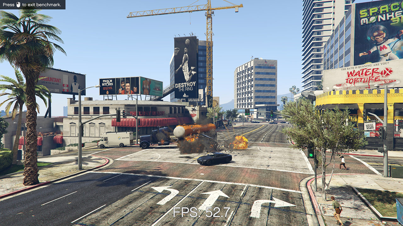 GTA V PC Performance, 4K And 3 GeForces