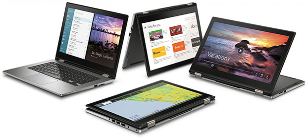 Dell Inspiron 13 7000 Special Edition Positions