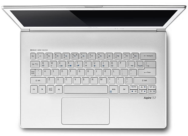 Acer Aspire S7 Keyboard